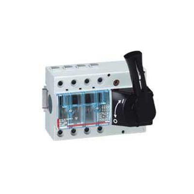 Legrand - Interrupteur sectionneur Vistop - 100 A - 4P - cde frontale - poignée noire - 022522