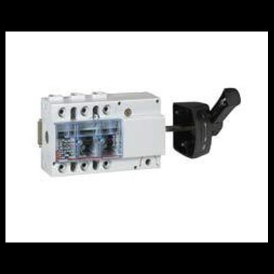 Legrand - Interrupteur sectionneur Vistop - 100 A - 3P - cde latérale - poignée noire - 022525