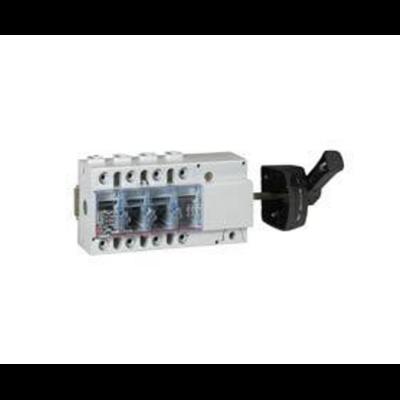 Legrand - Interrupteur sectionneur Vistop - 100 A - 4P - cde latérale - poignée noire - 022527