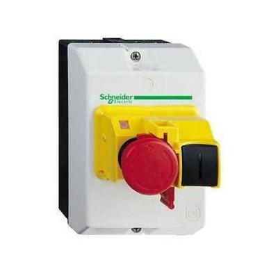 Schneider - Coffret Vide pour Gv2Me Arrêt D Urgence Plastronique- SCHGV2MCK04