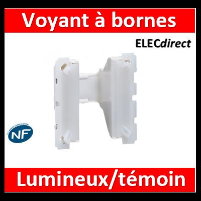 Legrand - Voyant à bornes - Témoin/lumineux - Prog. Céliane 230V - 067670