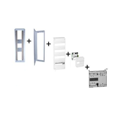 SIB - Bac SIB + platine + coffret com.6 rj45 et tableau 4R 13M Schneider