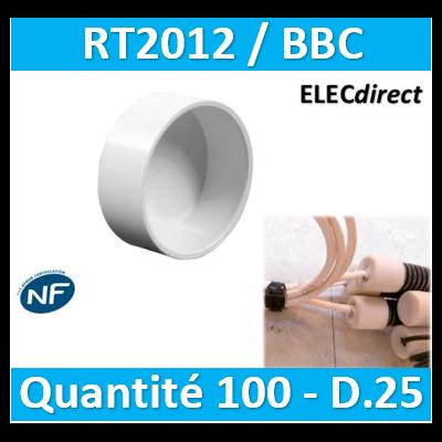 SIB - Bouchon BBC 25 - quantité 100
