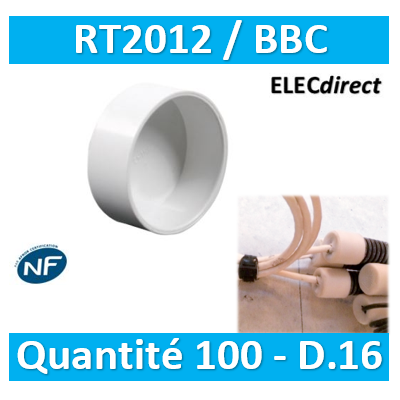 SIB - Bouchon BBC 16 - quantité 100