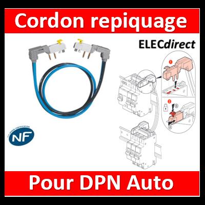 Legrand - Jeu de Cordon de repiquage Ph/N à connexion auto - 404927