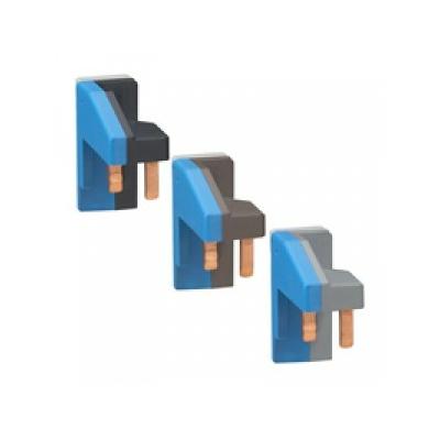 Legrand - Jeu de module de connexion (3) HX³ - L1N/L2N/L3N - pour app.1 mod/1P+N - 405251