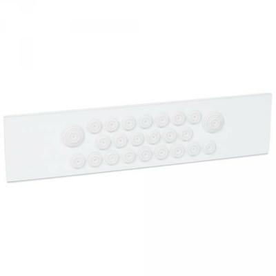 Legrand - Plaque à embouts - pour XL3 400 isolant - 020171