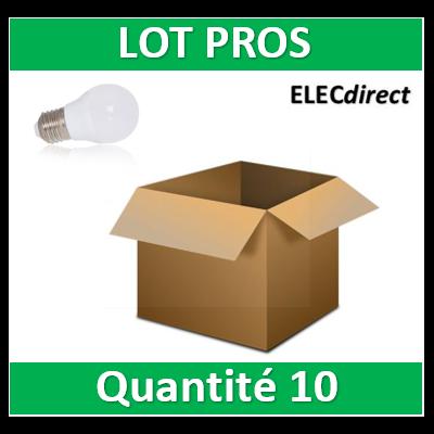 Vision-EL - Ampoule LED E27 Bulb G45 6W 3000°K - 7486x10