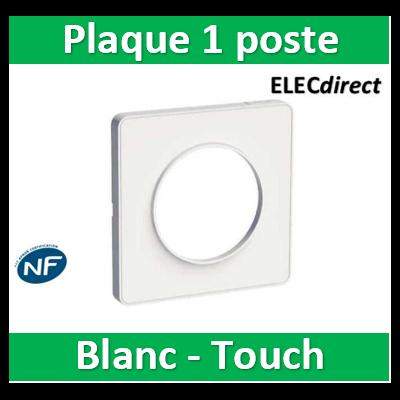 Schneider Odace - Plaque 1 poste - Touch- s520802