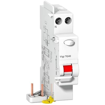 Schneider - Prodis Vigi DT40 - bloc différentiel 1P+N 40A 30mA instantané type AC 230VCA - A9N21482
