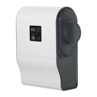Legrand - borne monophasée plastique green'up premium - mode 3 - 7,4 kw - 1 port - 32A - 059001