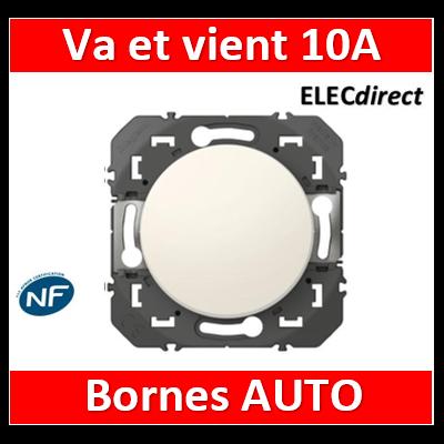 Legrand - Interrupteur ou va-et-vient Legrand dooxie 10AX 250V finition blanc - 600001
