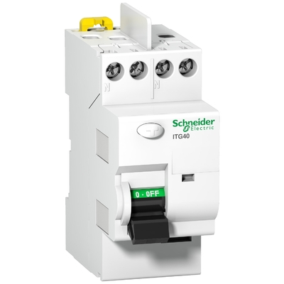 Schneider - Prodis, ITG40 interrupteur différentiel 2P 25A 300mA type AC 230V - A9N21522