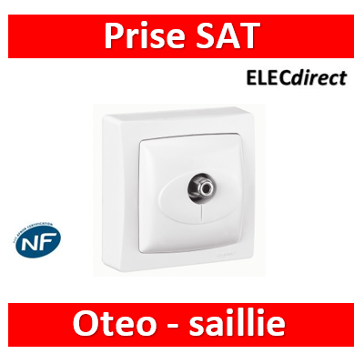 Legrand Oteo - Prise SAT simple - 086053