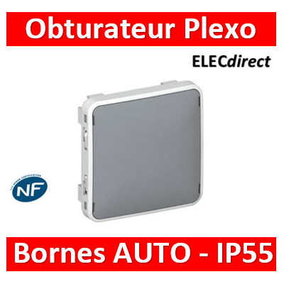 Legrand Plexo - Obturateur - IP55/IK07- 069537