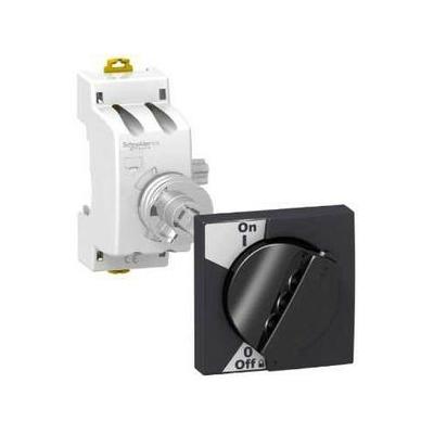 Schneider - Acti9, commande rotative noire pour iC60 et iID - A9A27005