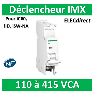 Schneider - Voltage release - imx - tripping unit - 110..415 vac - A9A26476