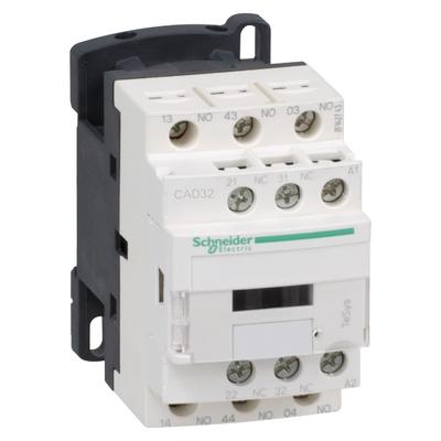 Schneider Electric Contacteur Tesys Cad32 3 F Plus 2 O Instantané 10 A 24 V Ca - CAD32B7
