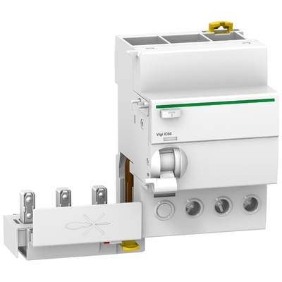 Schneider -  Acti9 Vigi iC60, bloc différentiel 3P 40A 300mA type AC 230-240/400-415V - A9Q14340