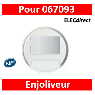 Legrand Céliane - Enjoliveur Blanc - interrupteur automatique de balisage - 068051