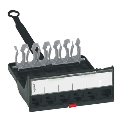 Legrand - Cassette nue pour panneaux de brassage droits à équiper LCS³ - 033755