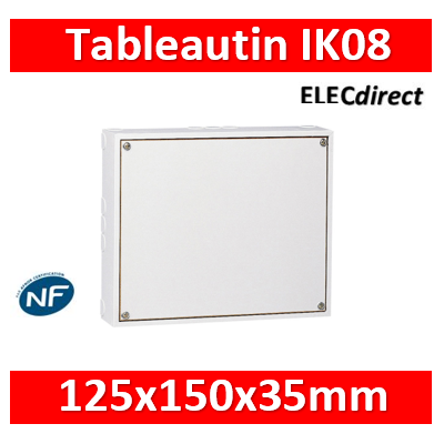 Tableautin  Legrand 125 x 150 x 35 mm - 039120