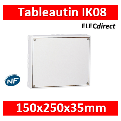 Tableautin Legrand 150 x 250 x 35 mm - 039121
