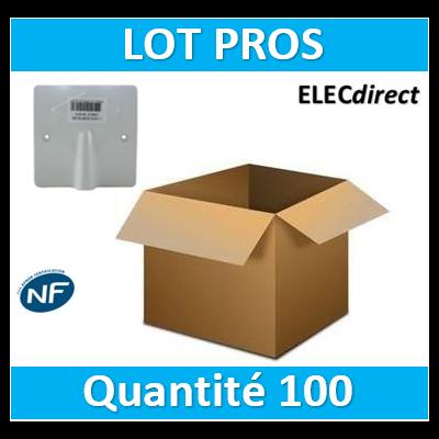 SIB - LOT PROS - Sortie de câble 16/20A - à vis dim. 80x80 - P11016x100