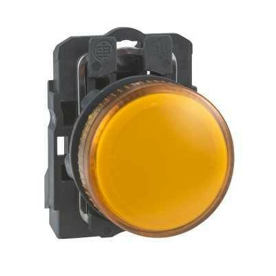 Schneider - Harmony voyant rond Ø22 - IP66 - orange - LED intégrée - 240 V  - XB5AVM5