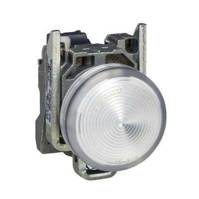 Schneider - Harmony voyant rond Ø22 - IP66 - blanc - LED intégrée - 24V - XB4BVB1
