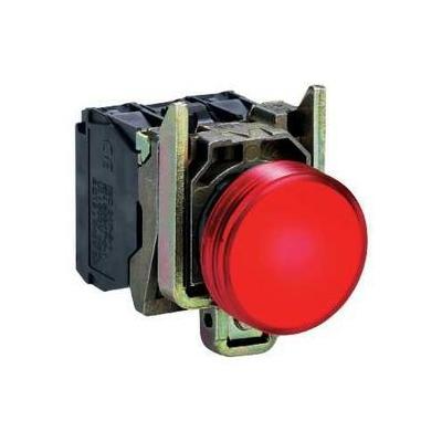 Schneider - Harmony voyant rond Ø22 - IP66 - rouge - LED intégrée - 24V - XB4BVB4