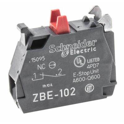 Harmony bloc contact pour bouton - ZBE Ø22 - 1O