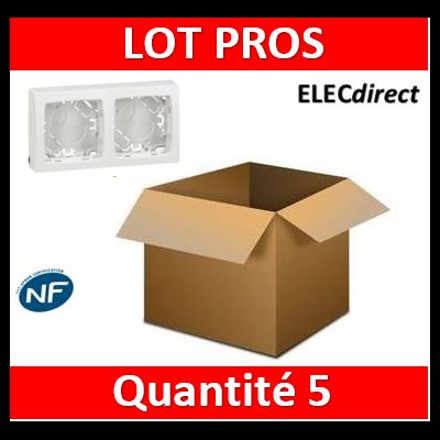 Legrand Oteo - Cadre saillie 2 postes - 086092x5