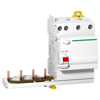 Schneider - Prodis, Vigi TG60 bloc différentiel 4P 40A 300mA instantané type AC 230-415V - A9N21512