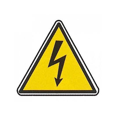 Digital Electric - Etiquette Présence de Tension - 49390