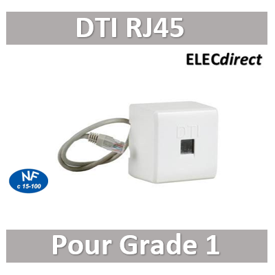 Digital electric - Prise test RJ 45 Grade 1 - 07241