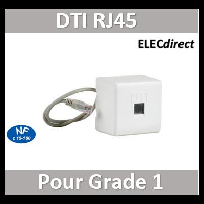 Digital electric - Prise test RJ 45 Grade 1 - 07241