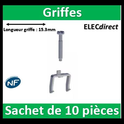 Schneider Odace - Sachet de 10 griffes - s520690