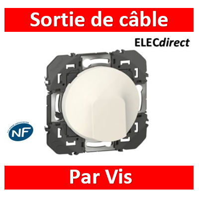 Legrand - Sortie de câble standard dooxie finition blanc  - 600325