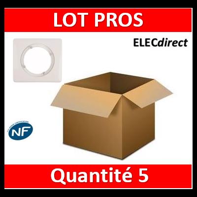 Legrand Céliane - Plaque simple - IP44 - Blanc - 069071x5
