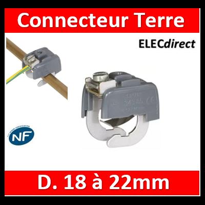 Legrand - Connecteur de liaison équipotentielle 18/22 mm - 034386