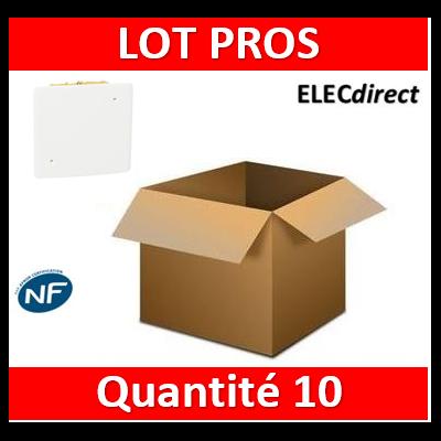 Legrand Batibox - Boîte pour dérivation 115x115x40 - 089372x10