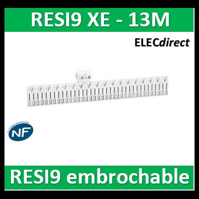 SCHNEIDER répartiteur RESI9 XE 26pas 13m avec connecteur - R9EXHC13