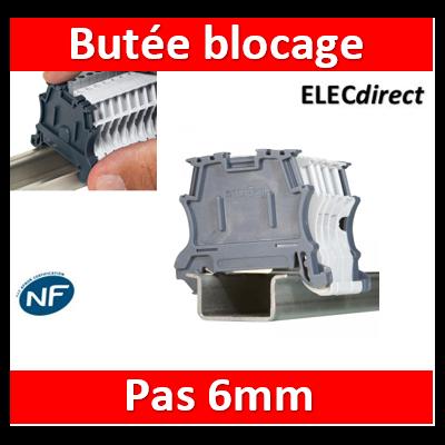 Legrand - Butée de blocage pour bloc de jonction Viking3 avec pas 6mm automatique - 037510
