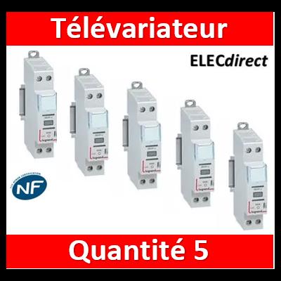 LEGRAND - Variateur modulaire LEDs - LOT PROS - 002671x5