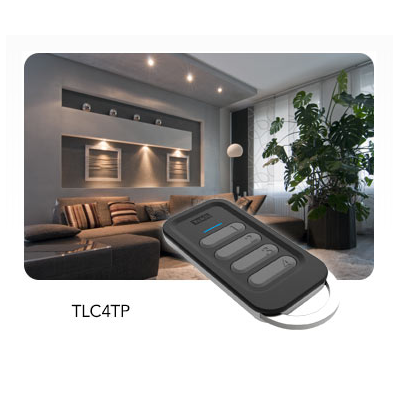 Yokis - Télécommande porte clé 4 canaux gamme Radio Power - TLC4CP