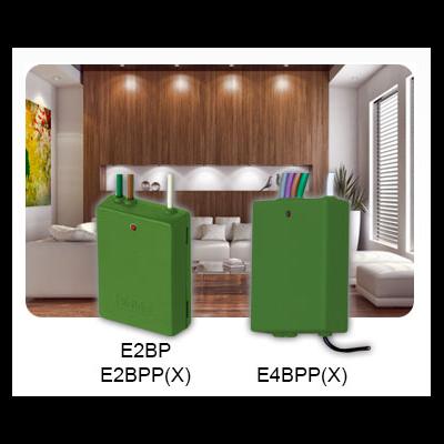 Yokis - Emetteur Radio Encastrables 2 Canaux Gamme Radio POWER - E2BPP