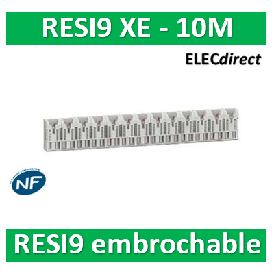 SCHNEIDER répartiteur RESI9 XE 10m sans connecteur - R9EXHS10