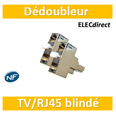 Casanova - Dédoubleur TV ou TEL/internet blindé - H54001