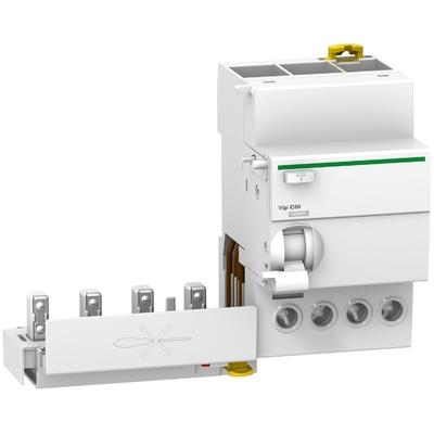 Schneider - Acti9 Vigi iC60, bloc différentiel 4P 25A 30mA type AC 230-240V 400-415V - A9Q11425